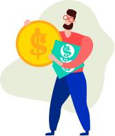 創造錢滾錢收入